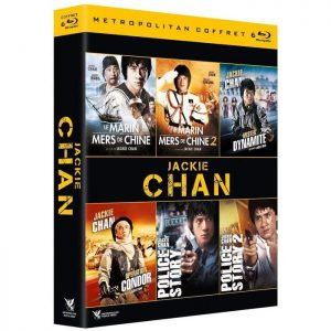 coffret blu ray jackie chan 6 films