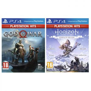 god of war horizon zero dawn complete edition playstation hits