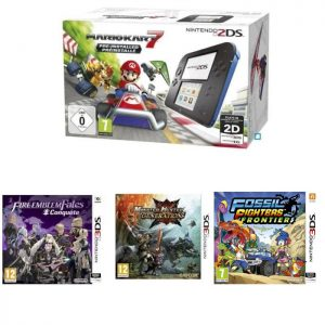 pack 2DS mario kart 7 Fire Emblem Fates Conquete MH Generations 3DS Fossil Fighters