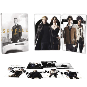 skyfall james bond edition collector steelbook blu ray