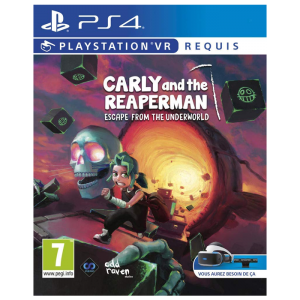 Carly And The Reaper Man Escape From The Underworld ps4