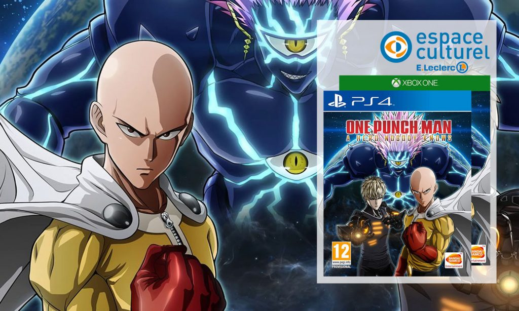 SLIDER one punch man a hero nobody knows ps4 xbox one leclerc