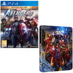 avengers edition deluxe ps4 steelbook offert