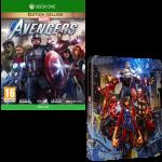 avengers edition deluxe xbox one steelbook offert