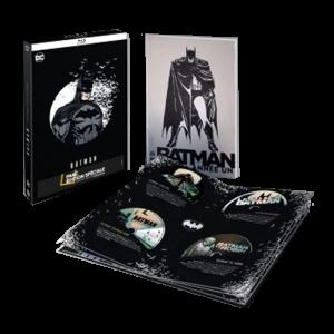 coffret blu ray batman 8 films comic book