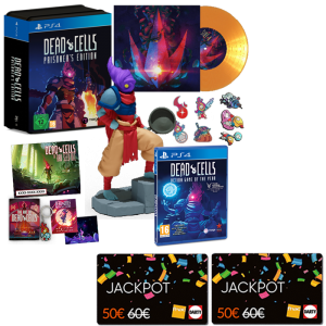 dead cells prisoners edition ps4 cartes jackpot fnac