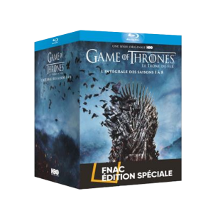 game of thrones blu ray intégrale edition spéciale fnac