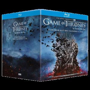 intégrale game of thrones 1 à 8 Blu ray visuel produit