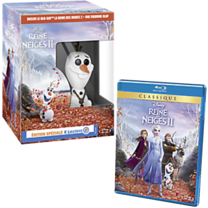 la reine des neiges 2 en blu ray edition speciale leclerc funko