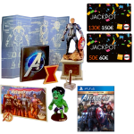 marvel avengers collector eath mightiest ps4 cartes jackpot fnac