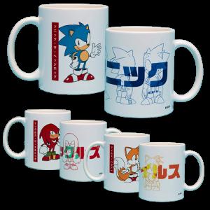 nouveaux mug sonic nouvelle collection