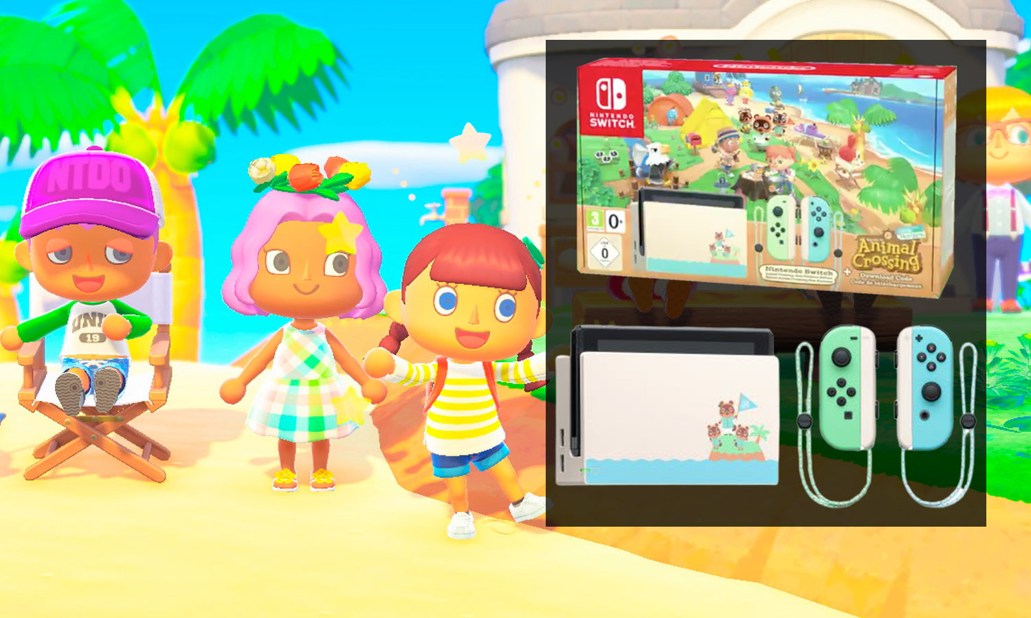 slider switch animal crossing edition limitée