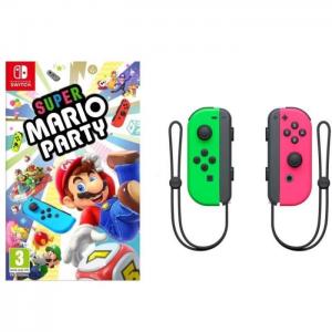 visuel mario party avec joy con vert et rose