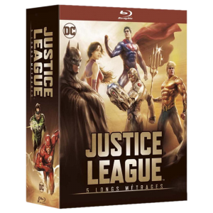 Justice League coffret 5 films Blu Ray