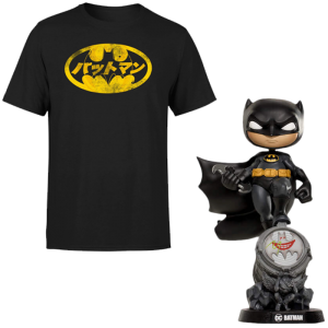 Lot Batman T shirt Figurine Iron Studios Mini Co