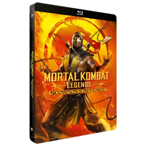 Mortal Kombat Legends Scorpion's revenge Blu Ray Steelbook