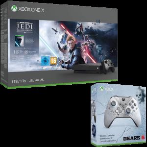 Pack Xbox One X Star Wars Jedi Fallen Order manette Gears 5
