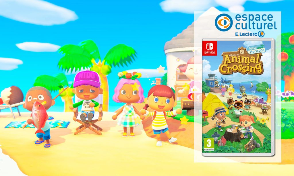 SLIDER animal crossing new horizons switch article blog leclerc