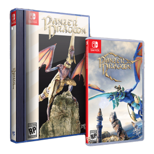 panzer dragoon switch avec fourreau nintendo switch saturn