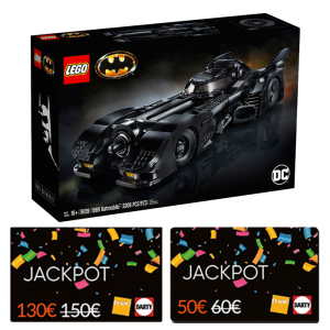 set lego batmobile cartes jackpot
