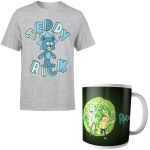 t shirt mug rick et morty