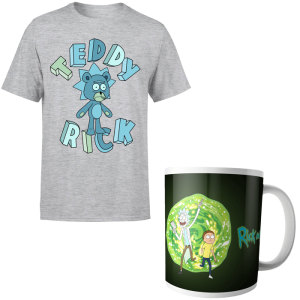 t shirt mug rick et morty