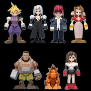 visuel produit figurines polygone final fantasy 7 play asia