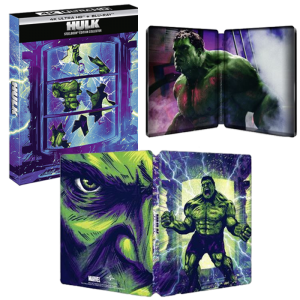 visuel produit hulk blu ray 4k steelbook