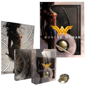 wonder woman blu ray edition limitée 4K visuel produit