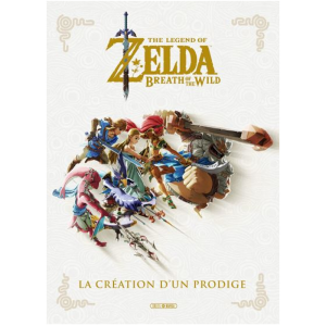 zelda la creation d'un prodige artbook guide livre