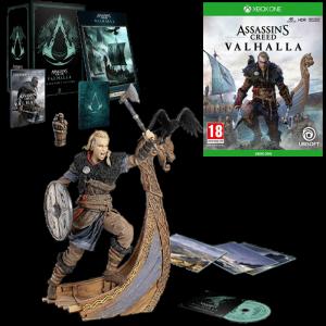 assassin's creed valhalla collector xbox one visuel produit