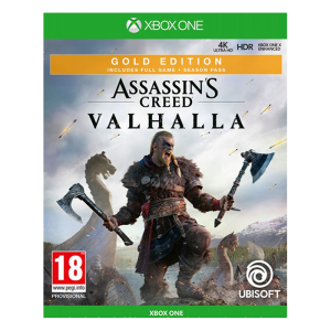 assassin's creed valhalla gold xbox one visuel produit