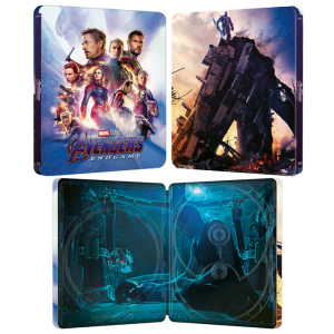 avengers endgame blu ray 4k steelbook lenticulaire visuel produit