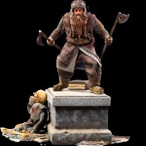 figurine gimli iron studio seigneur des anneaux