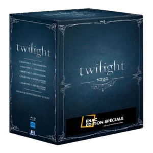 integrale blu ray twilight films 1 à 5