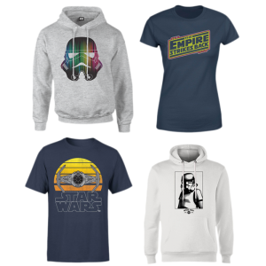 lot t-shirt sweat a capuche star wars promo zavvi 10 08 20