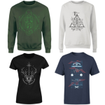 lot t-shirt sweat harry potter zavvi