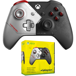 manette xbox one collector cyberpunk visuel produit