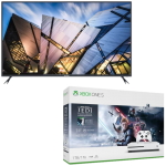 pack xbox one s avec tv 4K brandt
