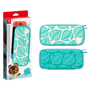 pochette de transport housse animal crossing switch