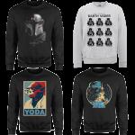 promo sweatshirt star wars pas cher livraison gratuite