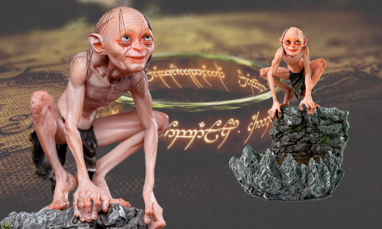 slider figurine gollum