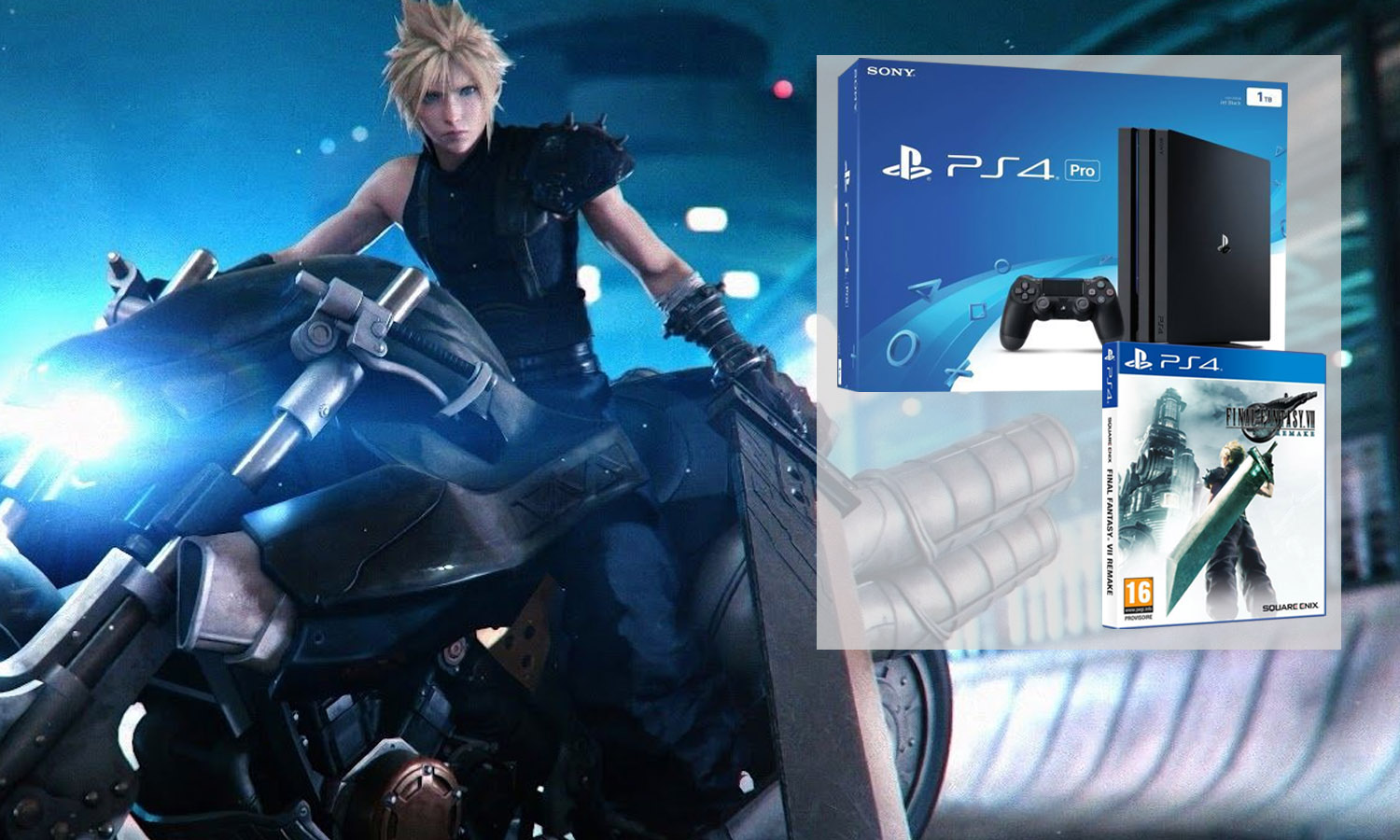 slider ps4 pro final fantasy 7 remake v2