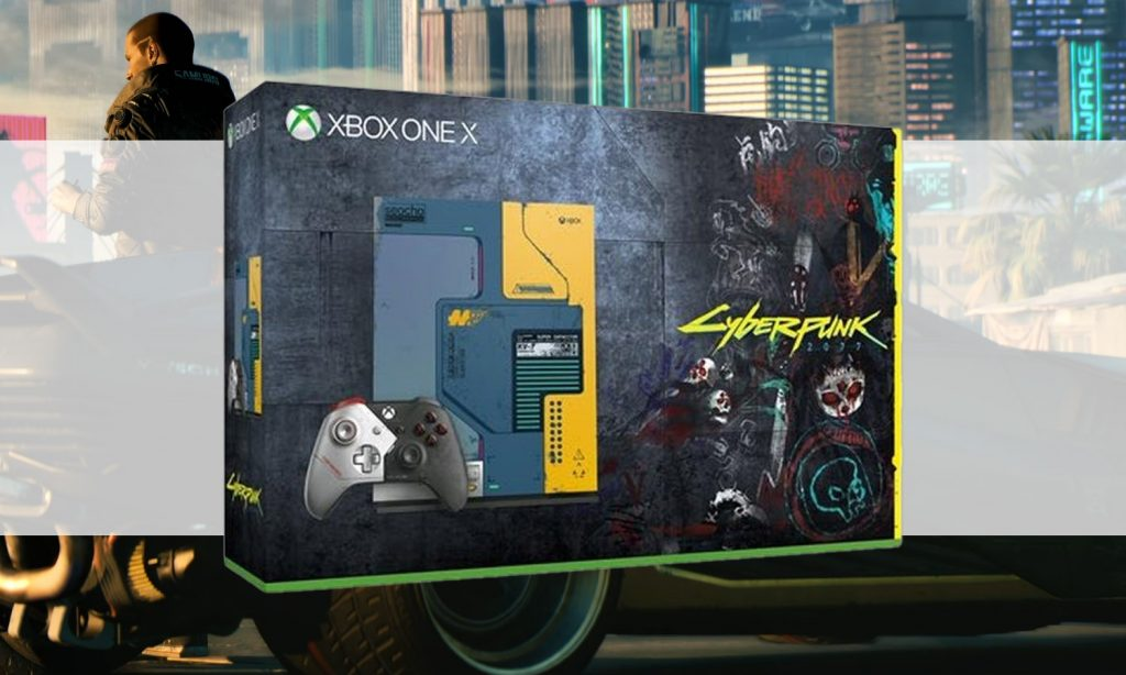 slider xbox one x cyberpunk collector