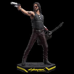 statuette silverhand cyberpunk 2077 figurine keanu reeves dark horse