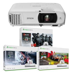 video projecteur console xbox one s offerte promo visuel produit