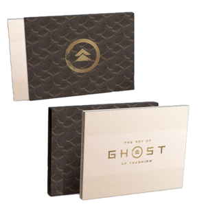 visuel produit artbook ghost of tsushima