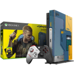 xbox one x collector cyberpunk 2077 version FR