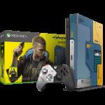 xbox one x collector cyberpunk 2077 version FR