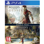 Double Pack Assassin's Creed Odyssey Origins PS4 detoure